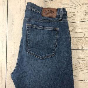Lauren Jeans 10 Classic Straight Leg Denim Jeans